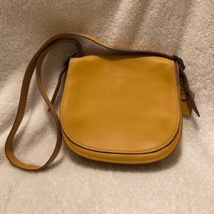 Coach limited addition larger saddle bag